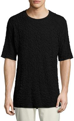 Twenty Men's Solid High-Low Crew Tee
