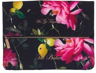 Wild And Wolf X Ted Baker London Citrus Bloom 3-Piece Laundry Bag Set - Black $61.60 thestylecure.com