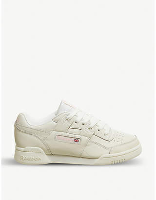 Reebok Workout Lo Plus leather trainers
