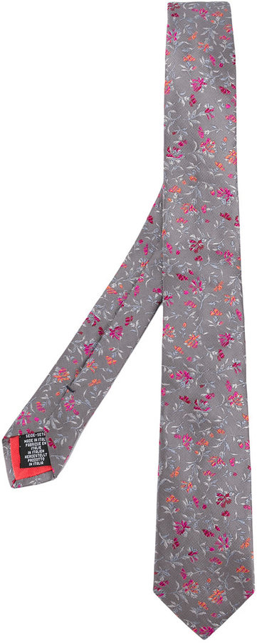 Paul Smith Paul Smith floral tie