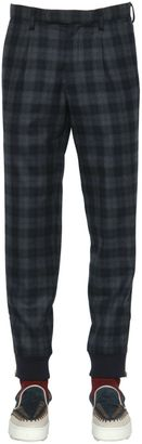 Plaid Wool Pants $670 thestylecure.com