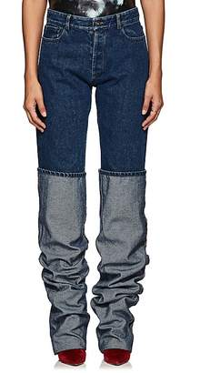 Y/Project Women's Oversized-Cuff Jeans