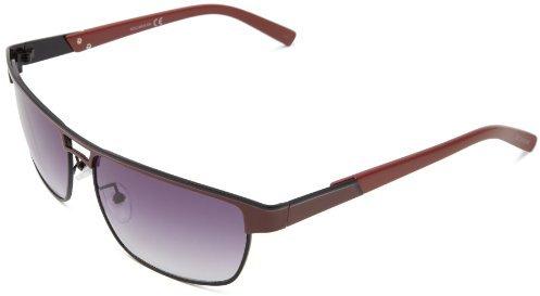 Rocawear R1298 BLKRD Rectangular Sunglasses