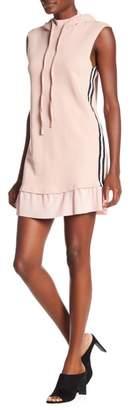 OnTwelfth Sleeveless Hooded Dress
