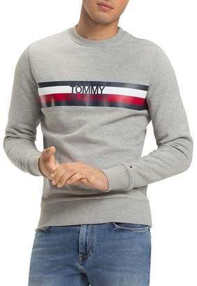 Tommy Hilfiger Logo-Print Sweatshirt