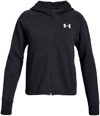 Under Armour Big Girls Finale Zip-Up Hooded Jacket
