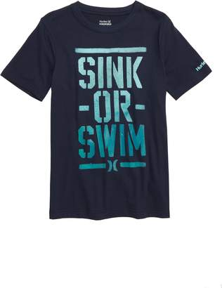Hurley Sink or Swim Graphic T-Shirt
