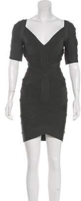 Herve Leger Raquel Mini Dress