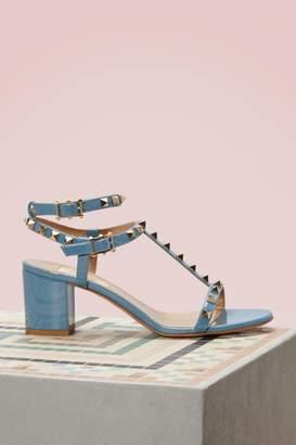 Valentino Gavarani Rockstud Open-toed Sandals