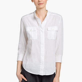 James Perse COTTON GAUZE SAFARI SHIRT