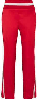 Maggie Marilyn - Trailblazer Striped Satin Track Pants - Red