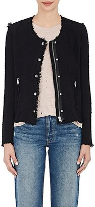 IRO Women's Agnette Cotton Tweed Jacket $580 thestylecure.com