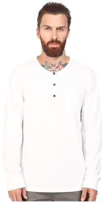 Alternative Organic Classic Classic Henley Men's Long Sleeve Pullover