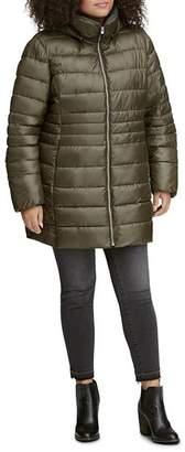 Andrew Marc Plus Performance Plus Windsor Puffer Coat