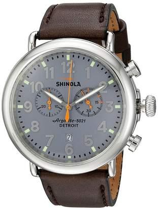 Shinola Detroit The Runwell Chrono 47mm - 10000167 Watches