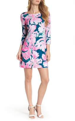 Lilly Pulitzer R) Sophie UPF 50+ Boat Neck Dress
