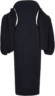 Acler Tynon off-the-shoulder midi dress