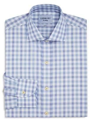 Ledbury Gingham Slim Fit Dress Shirt