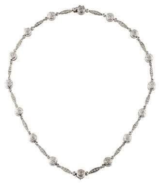 18K Diamond Pavé Link Necklace