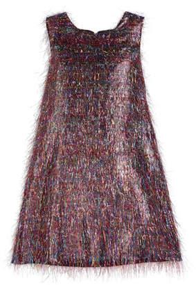 Roxy Zoe Rainbow Sparkle Dress, Size 7-16