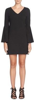 CeCe 'Lizzie' Bell Sleeve Shift Dress $128 thestylecure.com