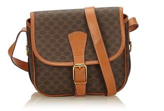 Celine Vintage Macadam Crossbody Bag