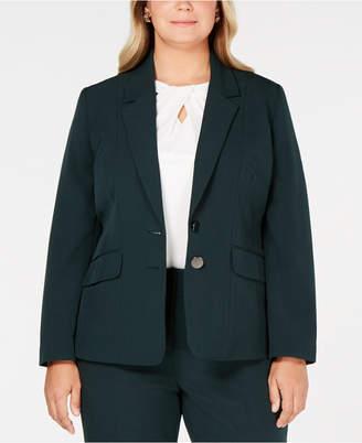 Kasper Plus Size Two-Button Jacket
