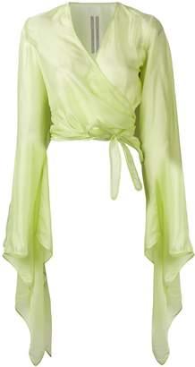 Rick Owens bat sleeve blouse