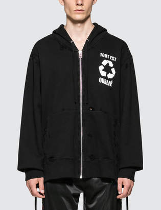 Faith Connexion PR Oversized Zip Through Hoodie