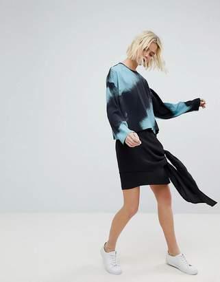 Weekday Waterfall Asymmetric Hem Skirt