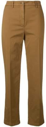 Aspesi cropped slim-fit trousers