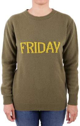 Alberta Ferretti Virgin Wool And Cashmere Sweater