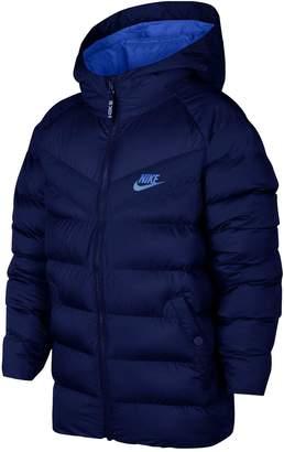 Nike Older Boys NSWFilled Hooded Jacket -Navy