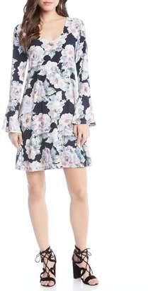 Karen Kane Taylor Bell Sleeve Dress