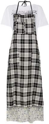R 13 Apron T-Shirt Dress