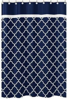 JoJo Designs Sweet Trellis Brushed Microfiber Shower Curtain