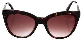 Derek Lam Purrt Cat-Eye Sunglasses