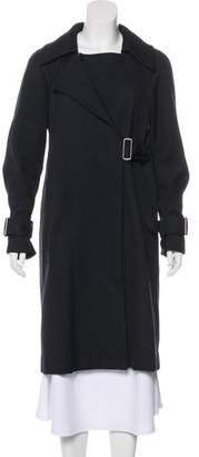 A.L.C. Woven Knee-Length Coat