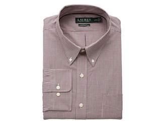 Lauren Ralph Lauren Classic Fit Non Iron Stretch Poplin Dress Shirt