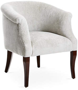 One Kings Lane Selby Club Chair - Gray Chenille