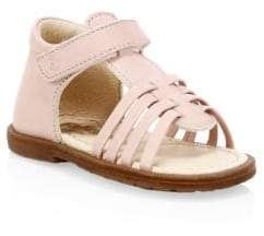 Naturino Baby's & Little Girl's Rattle Open-Toe Leather Sandals