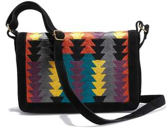 At La Redoute Collections Multi Coloured Flap Bag