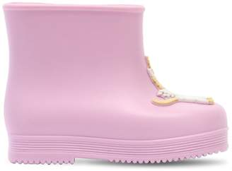 Mini Melissa Scented Unicorn Rubber Boots