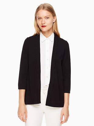 Kate Spade Open Cardigan, Black - Size XXS