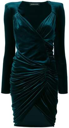 Alexandre Vauthier ruched short dress