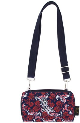 Ole Miss Rebels Bloom Crossbody Wallet