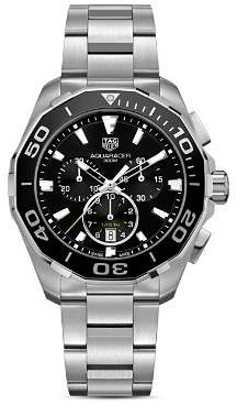 Tag Heuer Stainless Steel Aquaracer Chronograph, 43mm