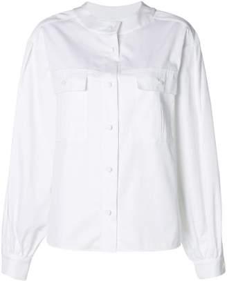 Karl Lagerfeld round collar shirt