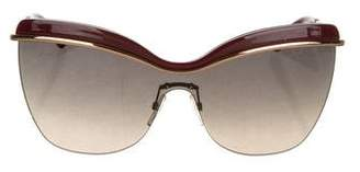 Marc Jacobs Butterfly Gradient Sunglasses