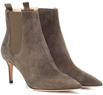 Gianvito Rossi Evan suede ankle boots